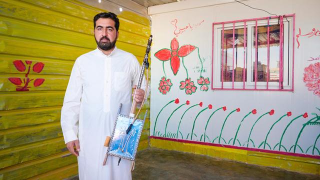 Ziad Al Massri a rebábbal