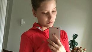 Szabó Zsófi okos, ő legalább smink nélkül edz