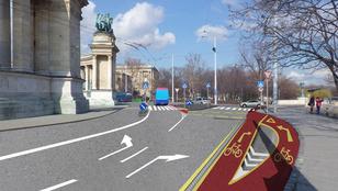 Látványtervek rovatunk: a városligeti kerékpáros fejlesztések
