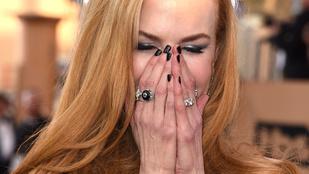 Nicole Kidman újra élettelen próbaba lett