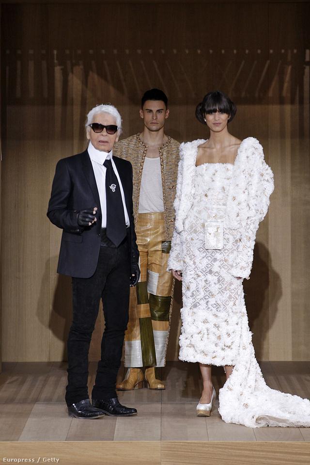 Öko-barát haute coutureben gondolkodott Karl Lagerfeld.