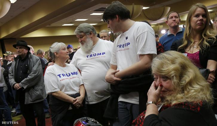 Trump a felmérésektől alaposan elmaradva csak 24 százalékot ért el, Rubio viszont nagyot hajrázott az utolsó napokban, végül 23 százalékkal lett a harmadik, majdnem megelőzte az ingatlanmágnást is. Trump támogatói láthatóan csalódottak voltak.