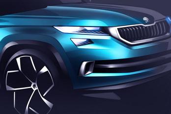 Vázlatokon az új terep-Škoda