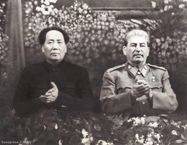 Sztálin és Mao 1949-ben