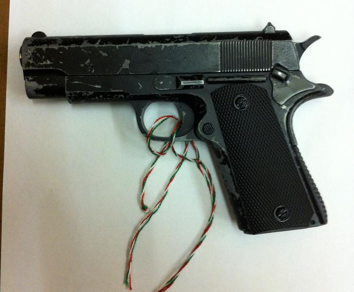 Airsoft fegyver a Police.hu archívumából.