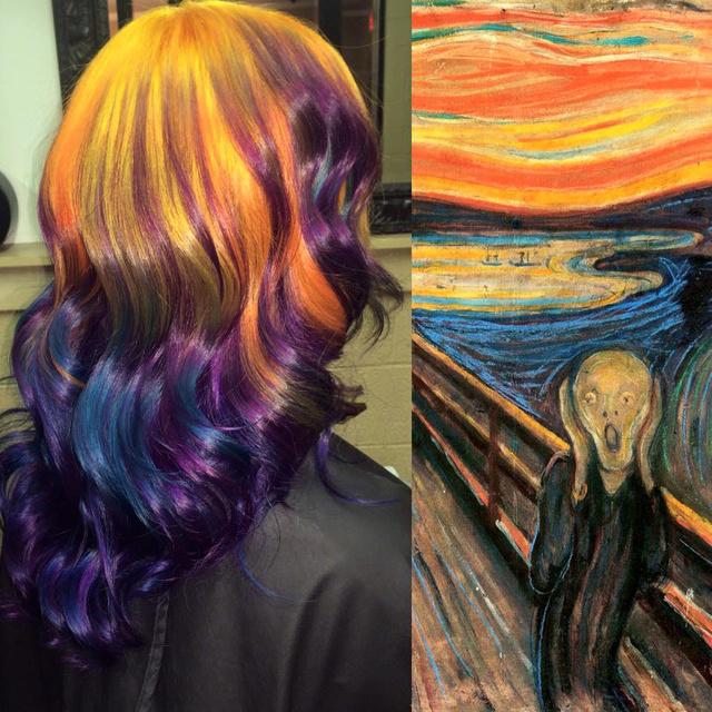 A norvég expresszionista, Edvard Munch leghíresebb festménye, A sikoly a hajon is jól mutat!