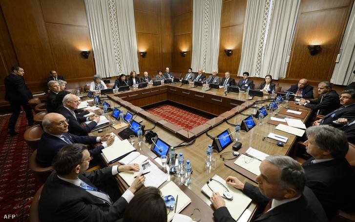 Felfüggesztették a genfi béketárgyalásokat