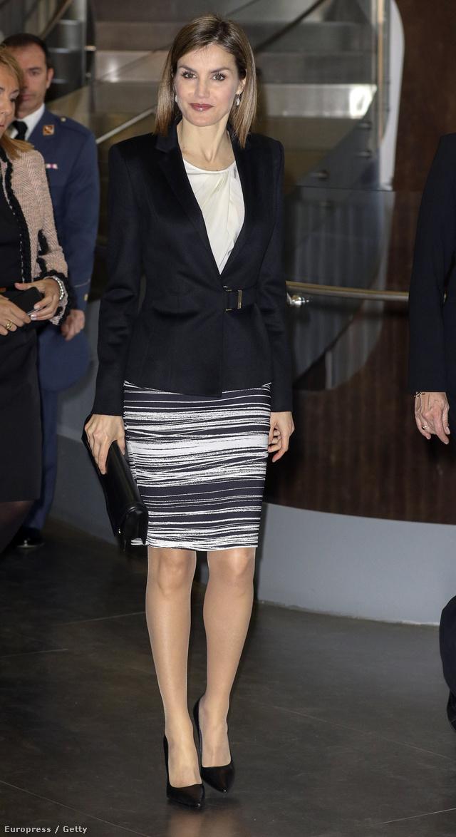 Queen Letizia attends V Forum Against Cancer 'Por un enfoque int