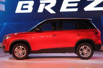 Brezza, az új terep-Suzuki