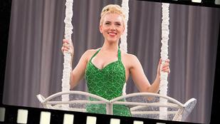 Scarlett Johansson igazán szexi zöld sellőként