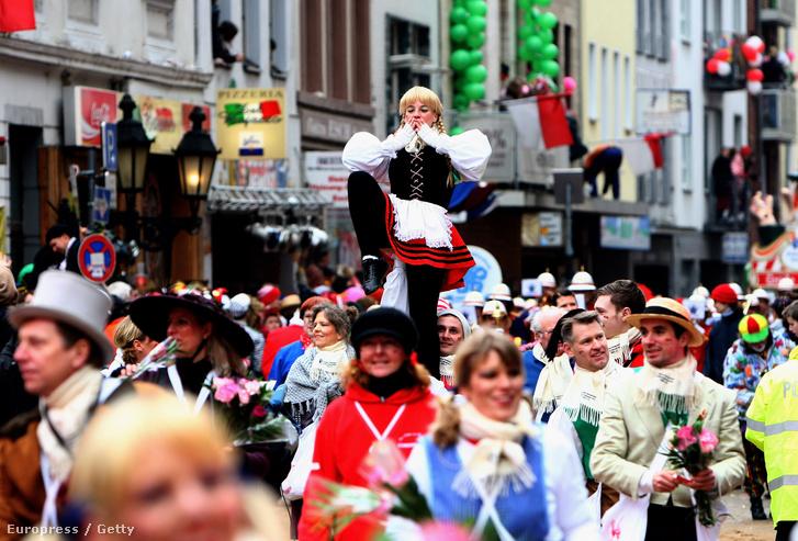 Résztvevők a 2015-ös karneválon.