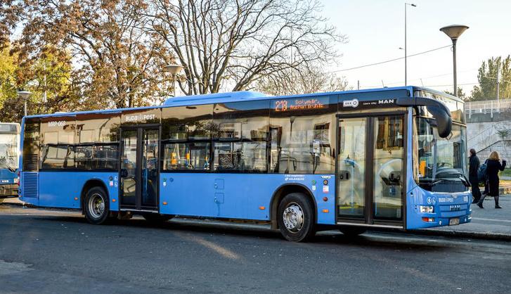 A kissé öregecske MAN Lion's City kétajtós változatai a Volánbusznál szolgálnak