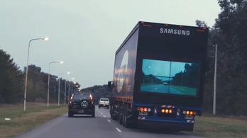 Tényleg megépíti a Samsung az átlátszó kamiont