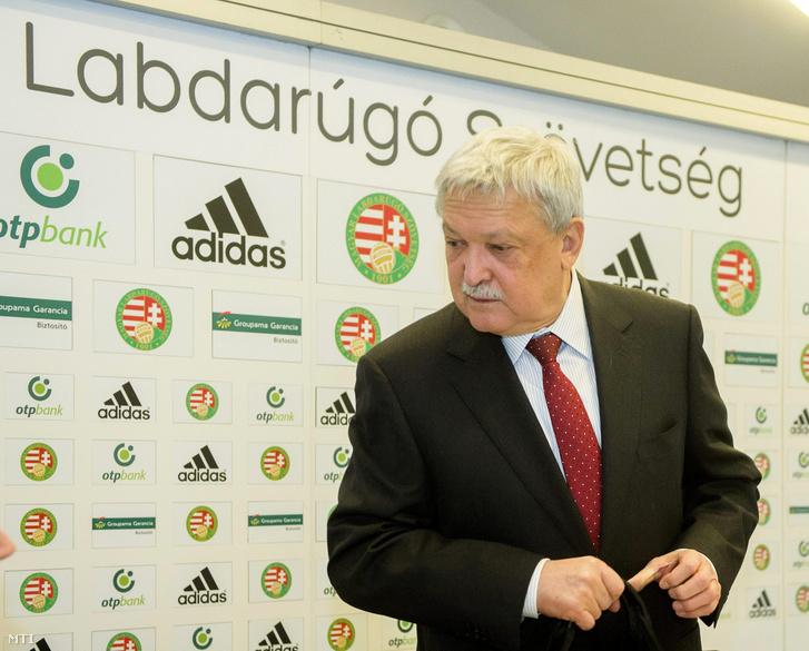 Csányi Sándor MLSZ-elnök