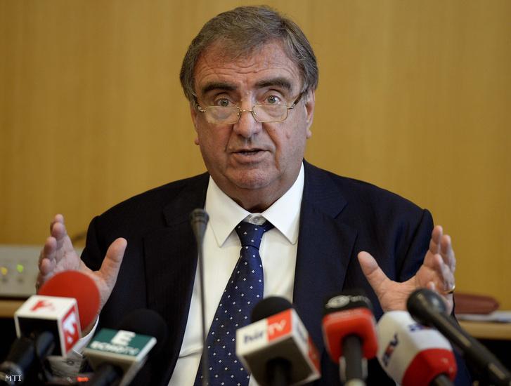 Klinghammer István, korábbi felsőoktatásért felelős államtitkár.