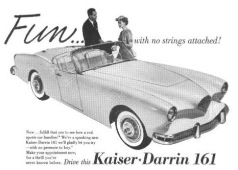 Az amerikai ihletadó: Kaiser Darrin