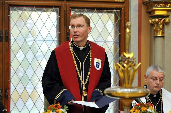Szuromi Szabolcs a budapesti Pázmány Péter Katolikus Egyetem rektora