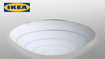 Plafonról potyogó lámpákat hív vissza az Ikea