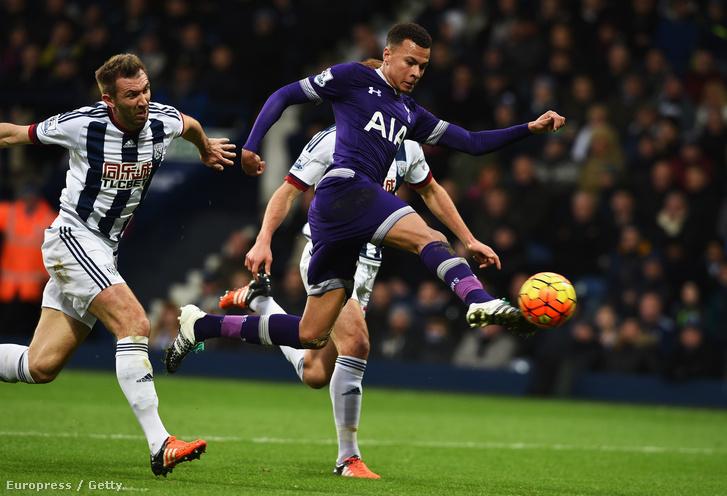 Dele Alli akcióban a Tottenhamnél