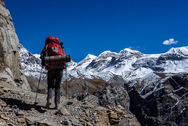 Zsuzsi az Annapurnán