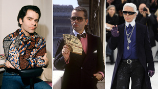 Karl Lagerfeld sem öltözött mindig így