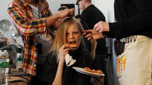 A brit divatcég visszalép, miután azt követelték, hogy csak azoknak a modelleknek fizetnek, akik esznek
