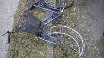 Bicikliző nőt gázolt halálra egy kamion