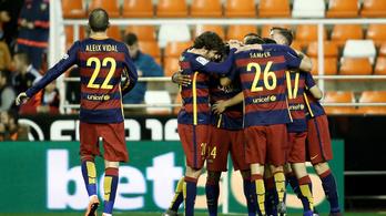 Nem rossz a Barca-csúcs első blikkre sem, de még ha belemászunk
