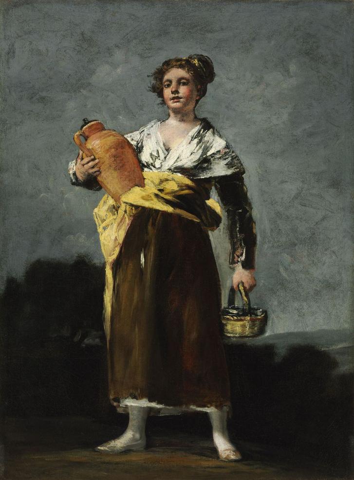 A korsós lány [Zaragoza] 1746 – 1828 Bordeaux