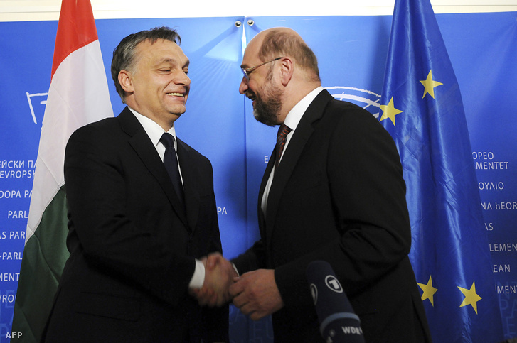 Orbán és Schulz 2012-ben