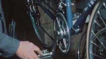1979: megjelenik a bringába épített motor