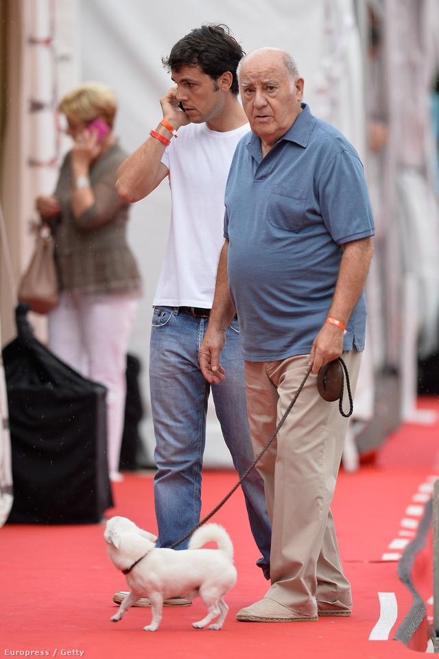 Amancio Ortega a 90-es években kezdett el terjeszkedni.