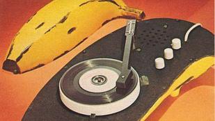 Menő vagy ciki a Warhol ihlette banán formájú lemezjátszó?