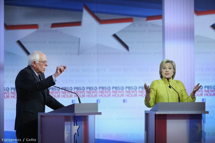 Bernie Sanders és Hillary Clinton