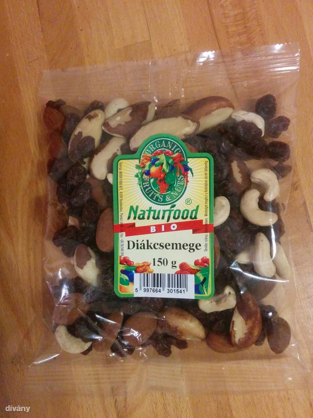 A Natúrfood bio terméke. A cég csomagol konvencionális termelésből származó magokat is, igaz ez drágább.