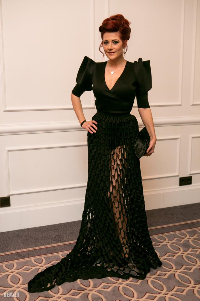 Madár Veronika különleges Merő Péter, MERO & EDINAS 'Modularity' kollekciós ruhája volt a legérdekesebb az este (szerintünk)