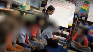 Szemét tanár: széttépte a leckéjét és durván lehordta elsős diákját