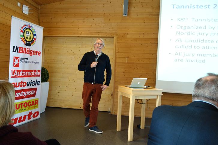 Soren Rasmussen, a dán tag az idei Tannistestet hirdeti. Nekem nem kell