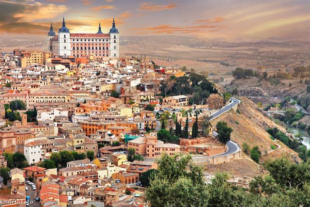 Toledo - vonattal csupán fél órányira Madridtól