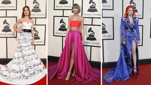 Nézze meg a Grammy legjobban öltözött nőit!