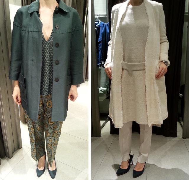Zara: leárazott vs. tavaszi kollekció.