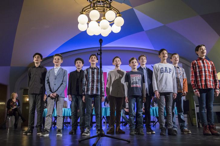A gyerekszereplő-casting nyertesei: Hrebenár András, Vizlendvai Áron, Pál Dániel, Lukács Olivér, Borka Dávid, Tóth Bercel, Kamarás Zalán
