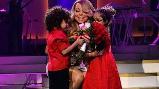 Itt meg Mariah Carey az ikreivel