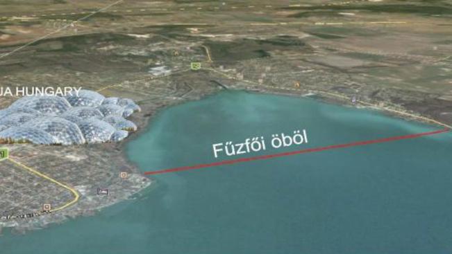 Gigantikus vízipark tenné tönkre a Balaton látképét