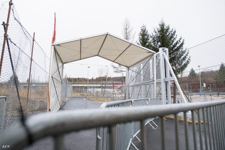 Megerősített határátkelő Spielfeldnél