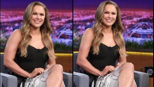 Ronda Rousey karjából lefaragtak egy keveset, de ő nem akarta