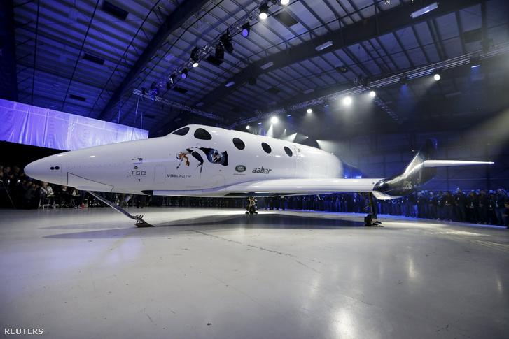 A SpaceShipTwo űrhajó új, Virgin Space Ship Unity (VSS Unity) elnevezésű modellje