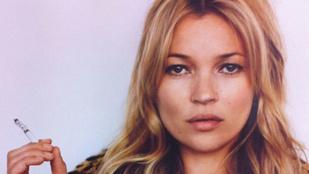 Kórházban végződött Kate Moss síelése