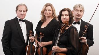 Keller Quartet a Fonó Szalonban
