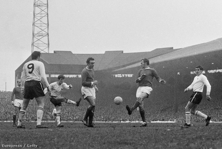 Manchester United vs Derby Country 1970.